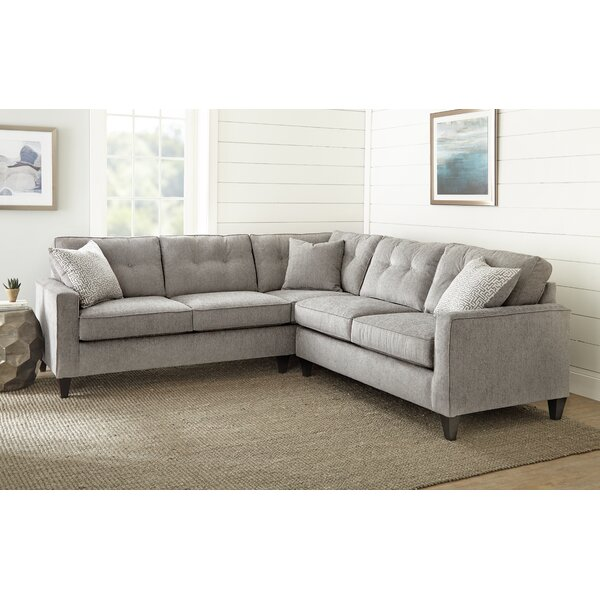 Lowrey Sectional by Gracie Oaks