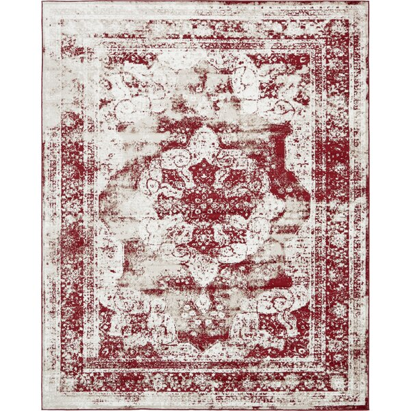 Mistana Brandt Burgundy Area Rug & Reviews by Mistana