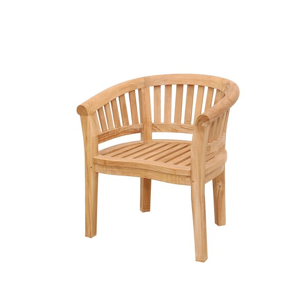 Curve Teak Arm Adirondack Chair by Anderson Teak