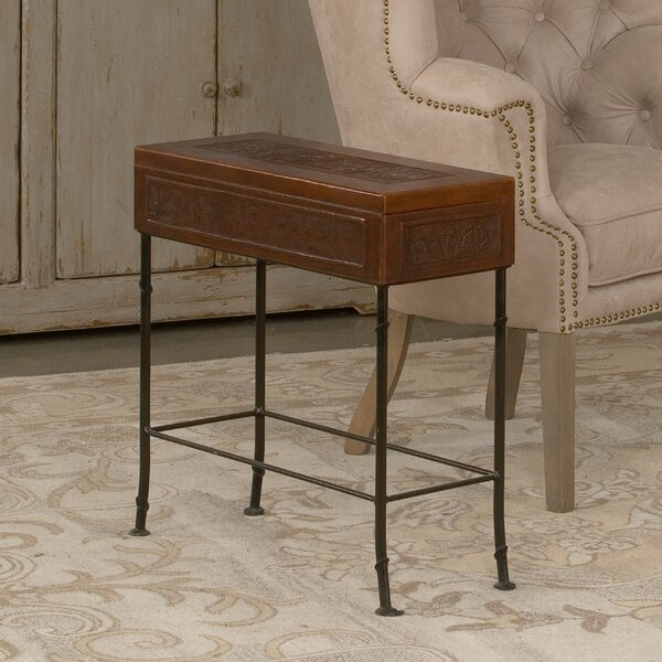 Botanical End Table with Storage by Sarreid Ltd