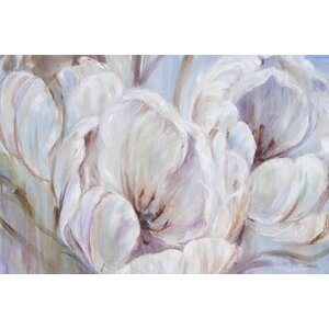 Sapphire Spring II by L. Carson Painting Print on Wrapped Canvas by Portfolio Canvas Decor