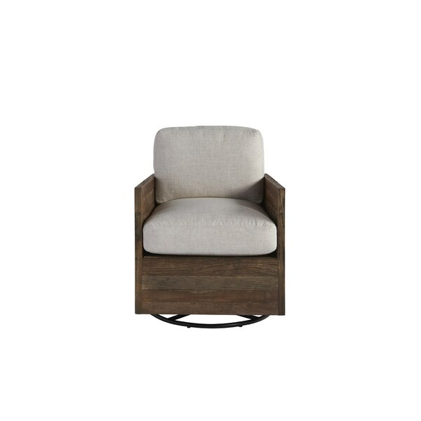 Scheer Swivel Armchair by Gracie Oaks