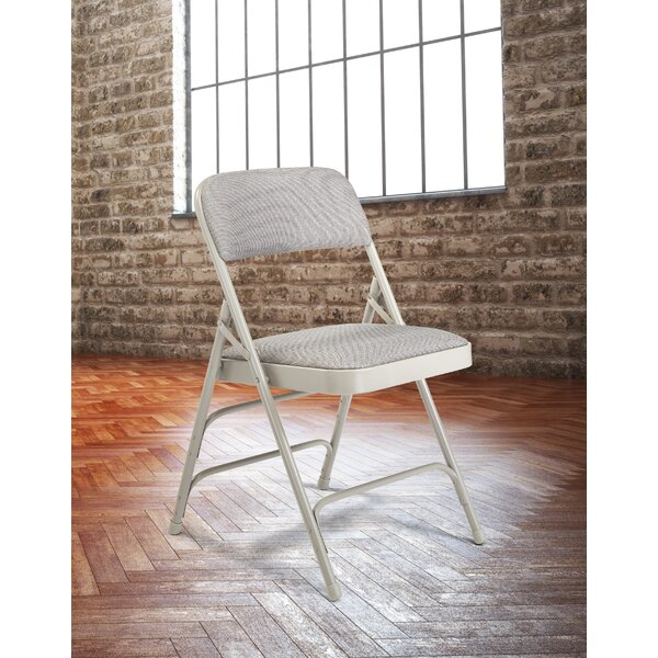 2300 Series Fabric Padded Folding Chair Set Of 4 By National Public Seating.