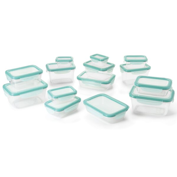 Good Grips Snap Plastic Food Storage Container (set Of 28) By Oxo.