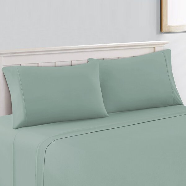 Silky Touch 400 Thread Count Sateen Sheet Set by Color Sense