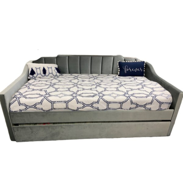 Kerim Modern Twin Daybed With Trundle By Red Barrel Studio