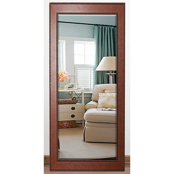 Priebe Rectangle Rope Beveled Wall Mirror by Charlton Home