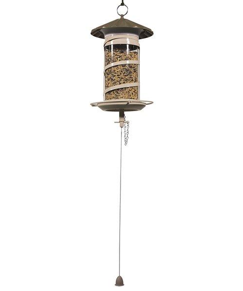 Large Barrel Mix Tube Bird Feeder by Effortless Products LLC