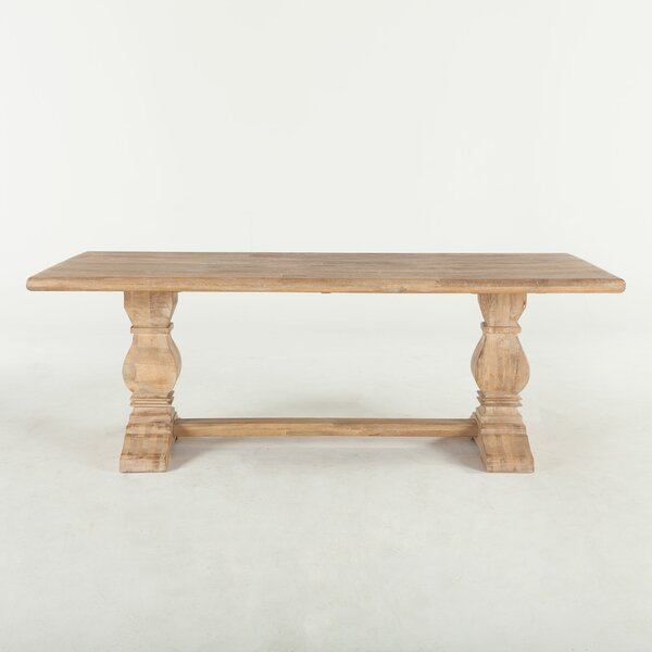 Katharine Mango Wood Dining Table by Ophelia & Co.