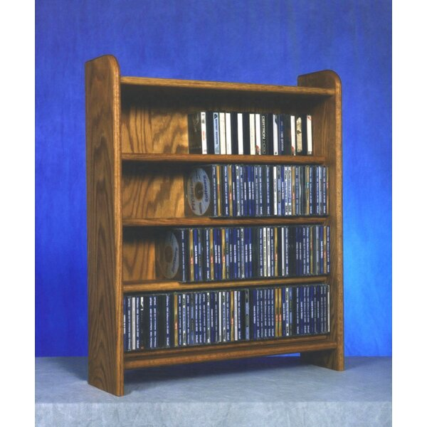 400 Series 220 CD Multimedia Storage Rack by Wood Shed