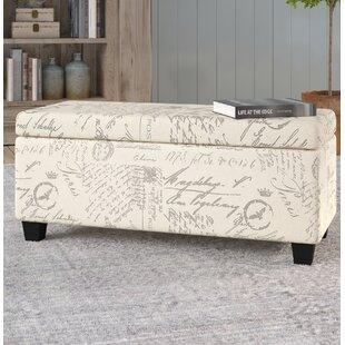 Buying Lemieux Fabric Storage Bench by Lark Manor