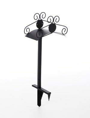 Ornamental Steel Hose Holder by Liberty Garden