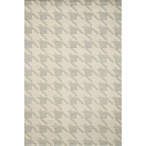 Wehmeyer Hand-Tufted Gray Area Rug by George Oliver