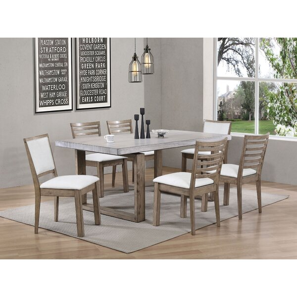 Cleveland 7 Piece Dining Set by Rosecliff Heights