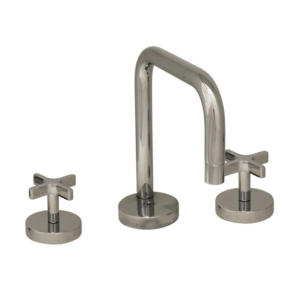 Metrohaus Widespread Bathroom Faucet with Double Cross Handles by Whitehaus Collection