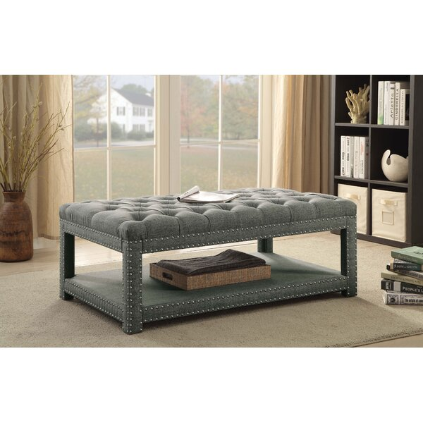 Heatherly Upholstered Bench by Alcott Hill