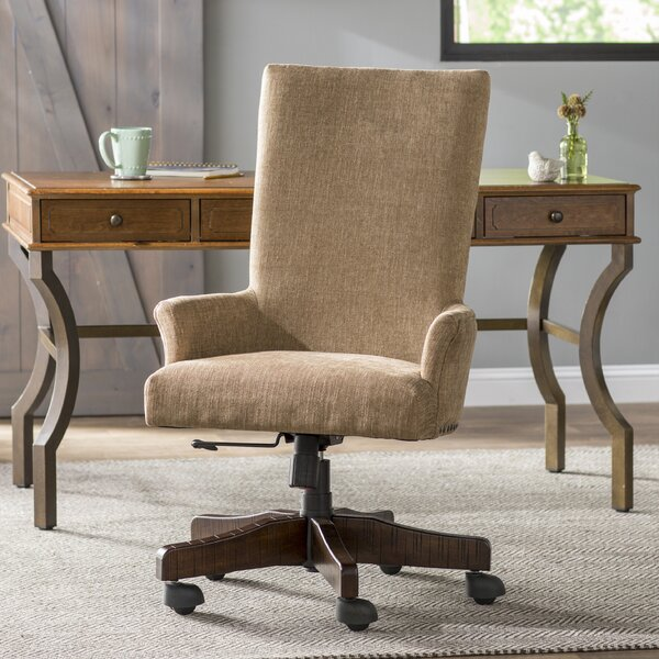 Sarita High-Back Desk Chair by Laurel Foundry Modern Farmhouse