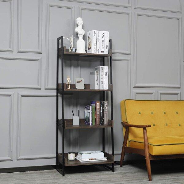 Randolh High-End European Style Ladder Bookcase By Ebern Designs
