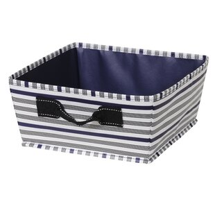 Compare prices Half Fabric Bin (Set of 6) ByBreakwater Bay
