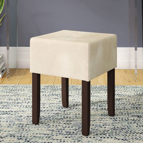 Magallon Backless Vanity Stool by Charlton Home