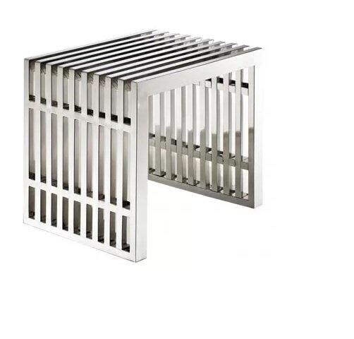 Paolucci Strips Metal Bench by Orren Ellis