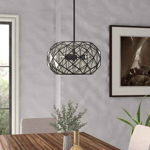 Carolan 3-Light Globe Chandelier By Brayden Studio