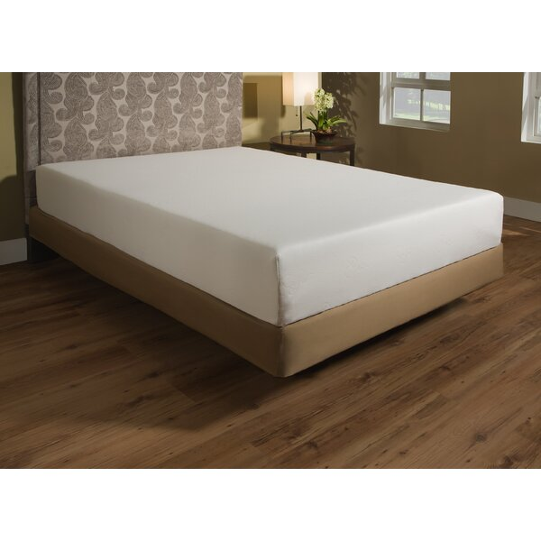 10 Plush Memory Foam Mattress by Independent Sleep