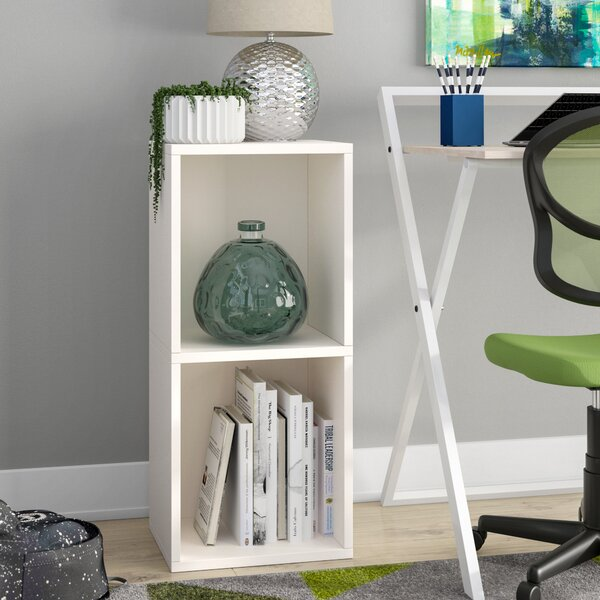 Andrade Double Plus Cube Unit Bookcase by Wrought Studio