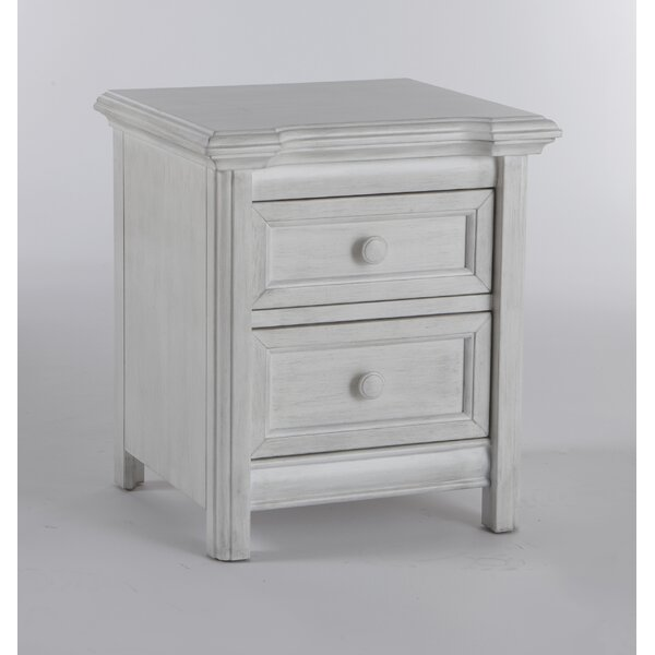 Manervia 2 Drawer Nightstand by Harriet Bee