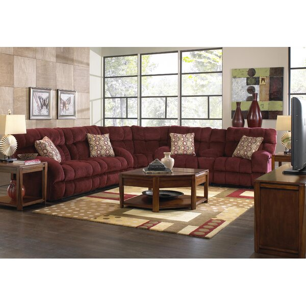 Purchase Online Siesta Symmetrical Reclining Sectional by Catnapper by Catnapper