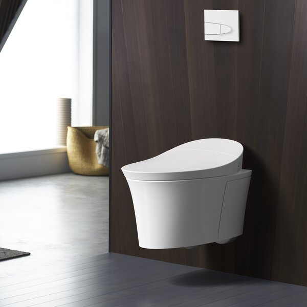 Veil® Intelligent Wall-Hung Toilet with Touchless Flush by Kohler