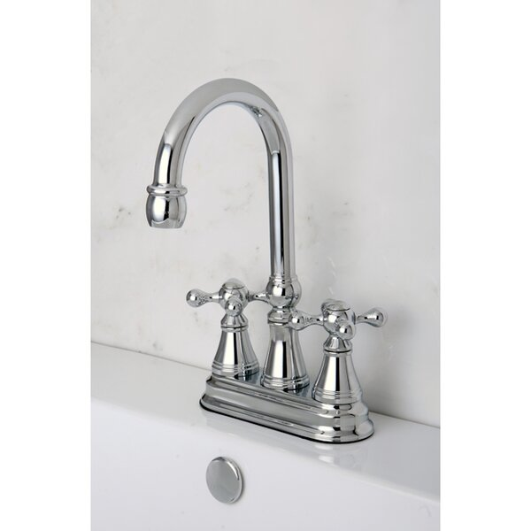 Governor Double Handle Kitchen Faucet by Kingston Brass Kingston Brass