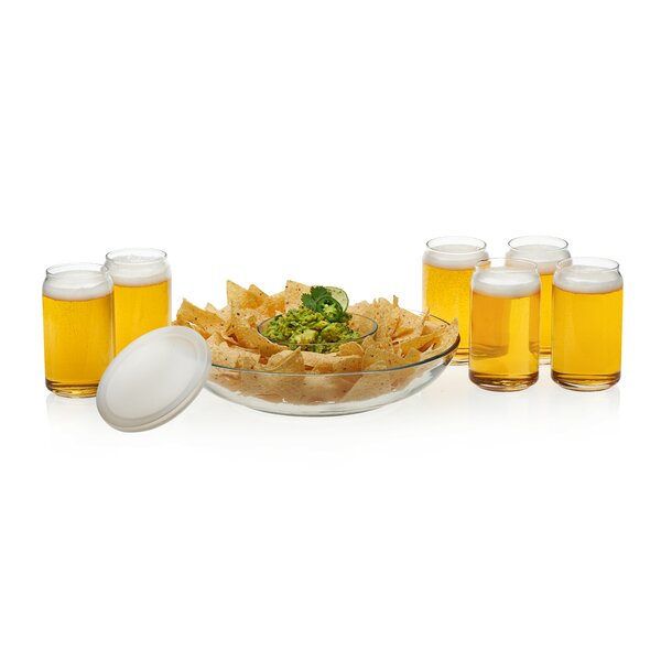 Game Night Classic 8 Piece Glass Every Day Glasses Set by Libbey