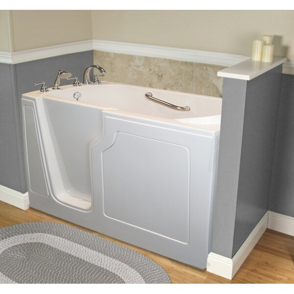 Dignity 48 x 28 Whirlpool Jetted Walk-In Bathtub by A+ Walk-In Tubs