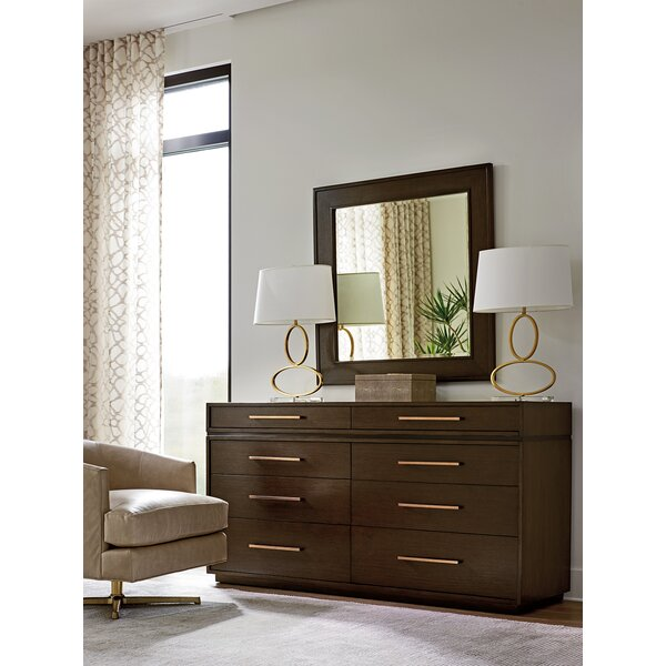 Zavala 8 Drawer Double Dresser with Mirror by Lexington
