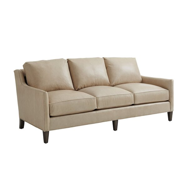 Ariana Leather Sofa By Lexington
