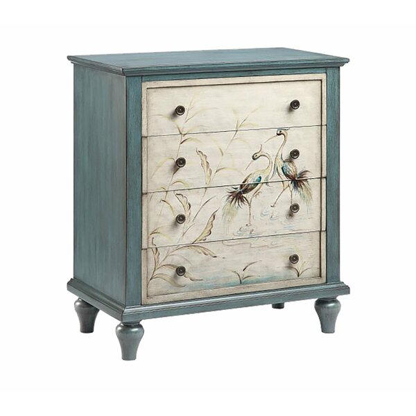 Reyna 4 Drawer Accent Chest By Rosecliff Heights