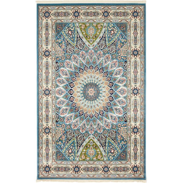Jackson Blue Area Rug by Astoria Grand