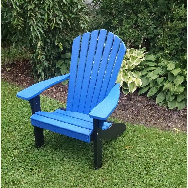 Risch Plastic Adirondack Chair by Brayden Studio