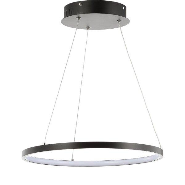 Huyet 1-Light LED Unique / Statement Chandelier by Orren Ellis Orren Ellis