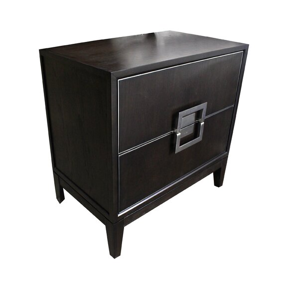 Bozkov 2 Drawer Nightstand by Red Barrel Studio
