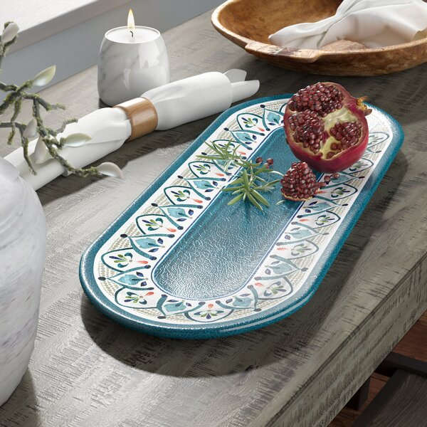 Tenerife Melamine Platter by Birch Lane™