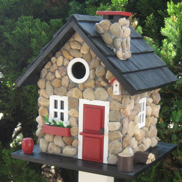 Cottage Charmer Series Windy Ridge 11 in x 9.5 in x 9.5 in Birdhouse by Home Bazaar