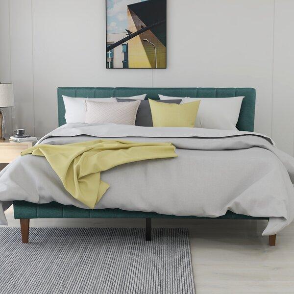 Khalaf Upholstered Platform Bed by Latitude Run Latitude Run