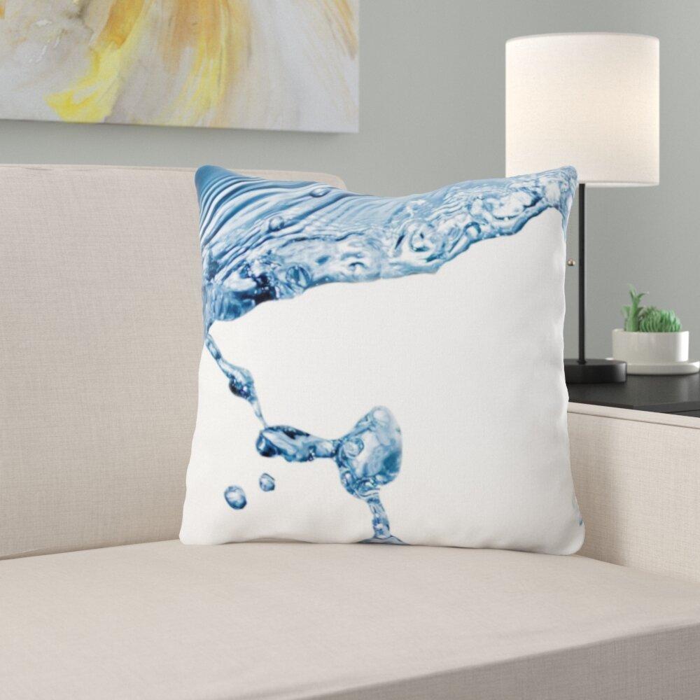 East Urban Home Splashing Throw Pillow Wayfair