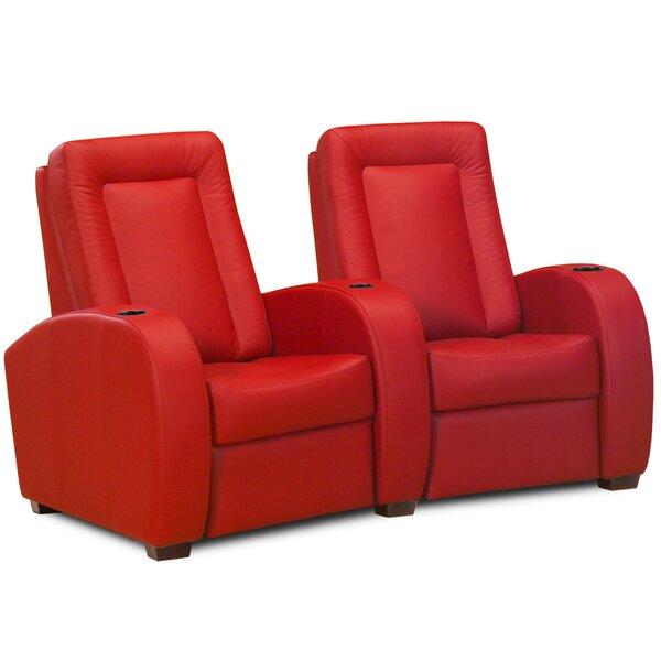 Leather Home Theater Loveseat (Row Of 2) By Jaymar