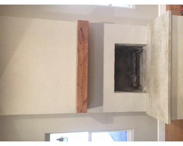 Knotty Alder Beam Fireplace Shelf Mantel By Sundance Mantels