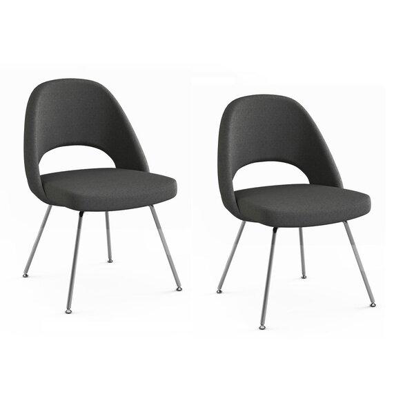 Port Chester Upholstered Dining Chair (Set of 2) by Orren Ellis