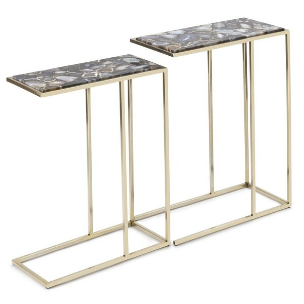 Nakasa 2 Piece Nesting Tables by IMAX