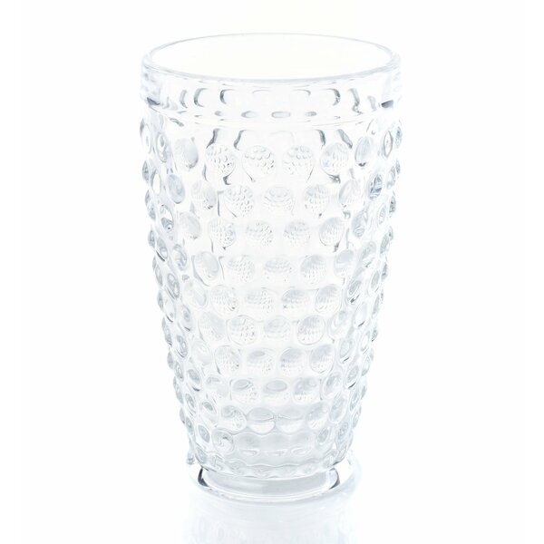Taylorstown Tumbler 17 oz. Glass Highball Glasses (Set of 6) by Andover Mills